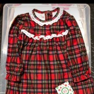 Little Me 24 month holiday nightgown
